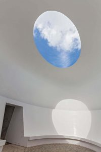 James Turrell Skyspace - Artworks and Sculptures in Cornwall - Sculpture Park and Gardens
