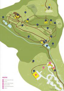 Tremenheere Sculpture Gardens Map