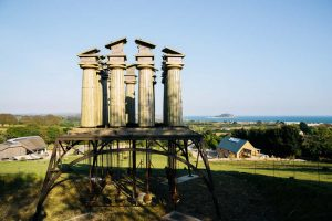 Penny Saunders - Restless Temple - Artworks and Sculptures in Cornwall - Sculpture Park and Gardens