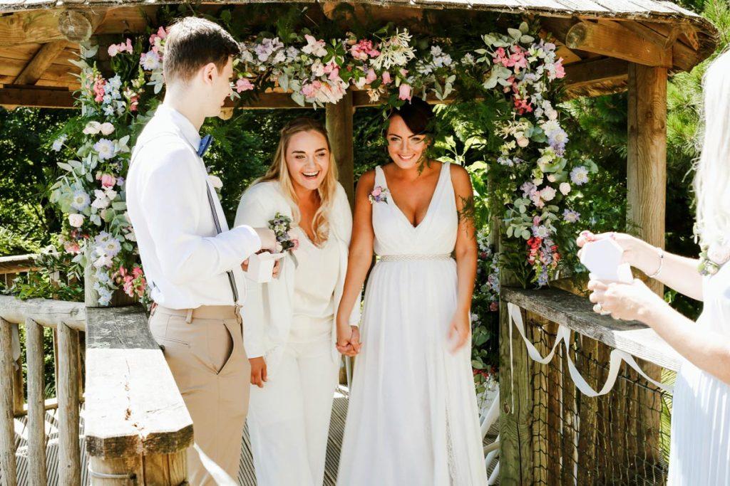 Tremenheere Sculpture Gardens - Outdoor Wedding Venue in Cornwall