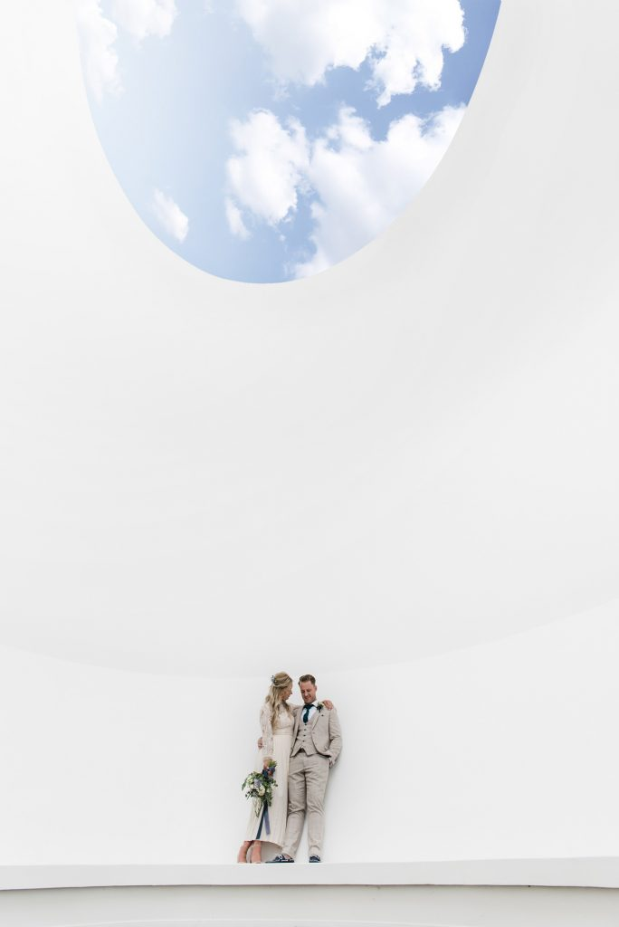 Tremenheere Sculpture Gardens - James Turrell Skyspace Wedding Venue in Cornwall