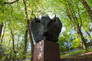 Minotaur - Artworks at Tremenheere Sculpture Gardens in Cornwall
