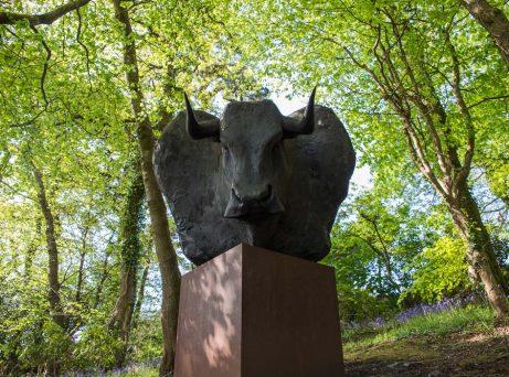 Minotaur - Artworks at Tremenheere Sculpture Gardens in Cornwall