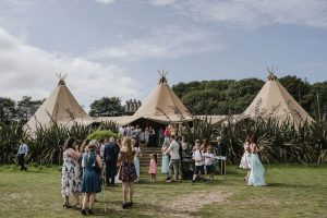 Outdoor wedding venue in Penzance, Cornwall