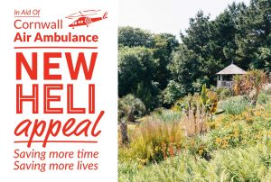 Tremenheere Sculpture Gardens in Cornwall - Biannual charity day for Cornwall Air Ambulance's Heli Appeal