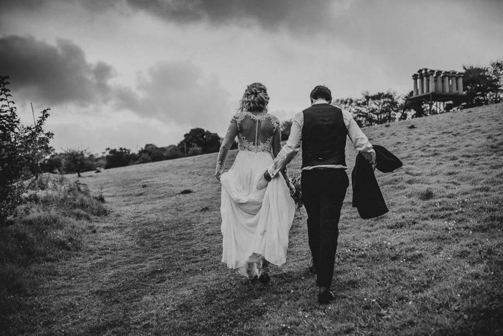 Garden Wedding Venue in Cornwall - Tremenheere Sculpture Gardens, Penzance.