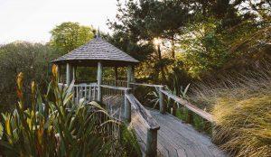 Garden Pagoda Wedding Venue in Cornwall - Tremenheere Sculpture Gardens, Penzance.