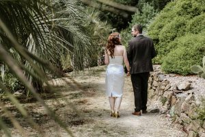 Garden Wedding Venue in Cornwall - Tremenheere Sculpture Gardens, Penzance.
