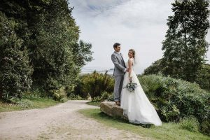 Sea Views - Garden Wedding Venue in Cornwall - Tremenheere Sculpture Gardens, Penzance.