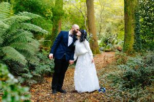Woodland Garden Wedding Venue in Cornwall - Tremenheere Sculpture Gardens, Penzance.