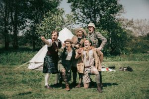 A Perfect World by Miracle Theatre at Tremenheere Sculpture Gardens in Cornwall
