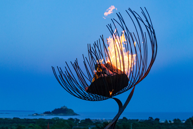 Sol Force Summer Solstice Event at Tremenheere Sculpture Gardens in Cornwall