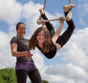 Circus Workshop at Tremenheere Sculpture Gardens in Cornwall